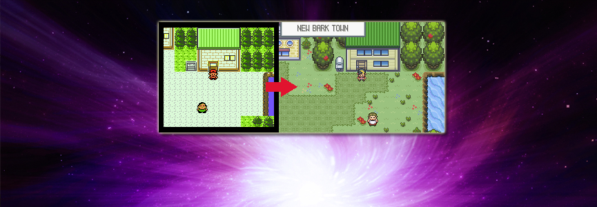 Make your way through the game while setting eyes on some of the Greatest Graphics & Maps ever seen in a Pokémon Game!